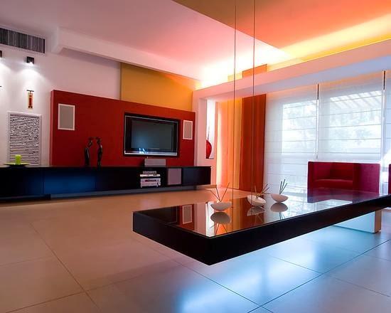 pemilihan warna cat dinding ruang tamu