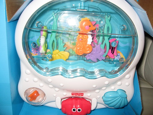 85 fisher price crib toys aquarium fisher price for Fisher price fish bowl