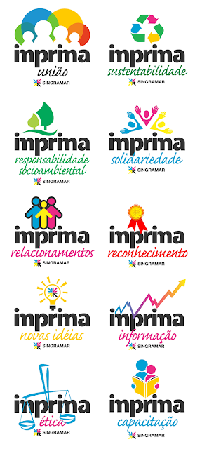 Logos para campanha Imprima Singramar