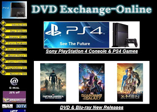 DVDs * Blu-ray * Games * Consoles