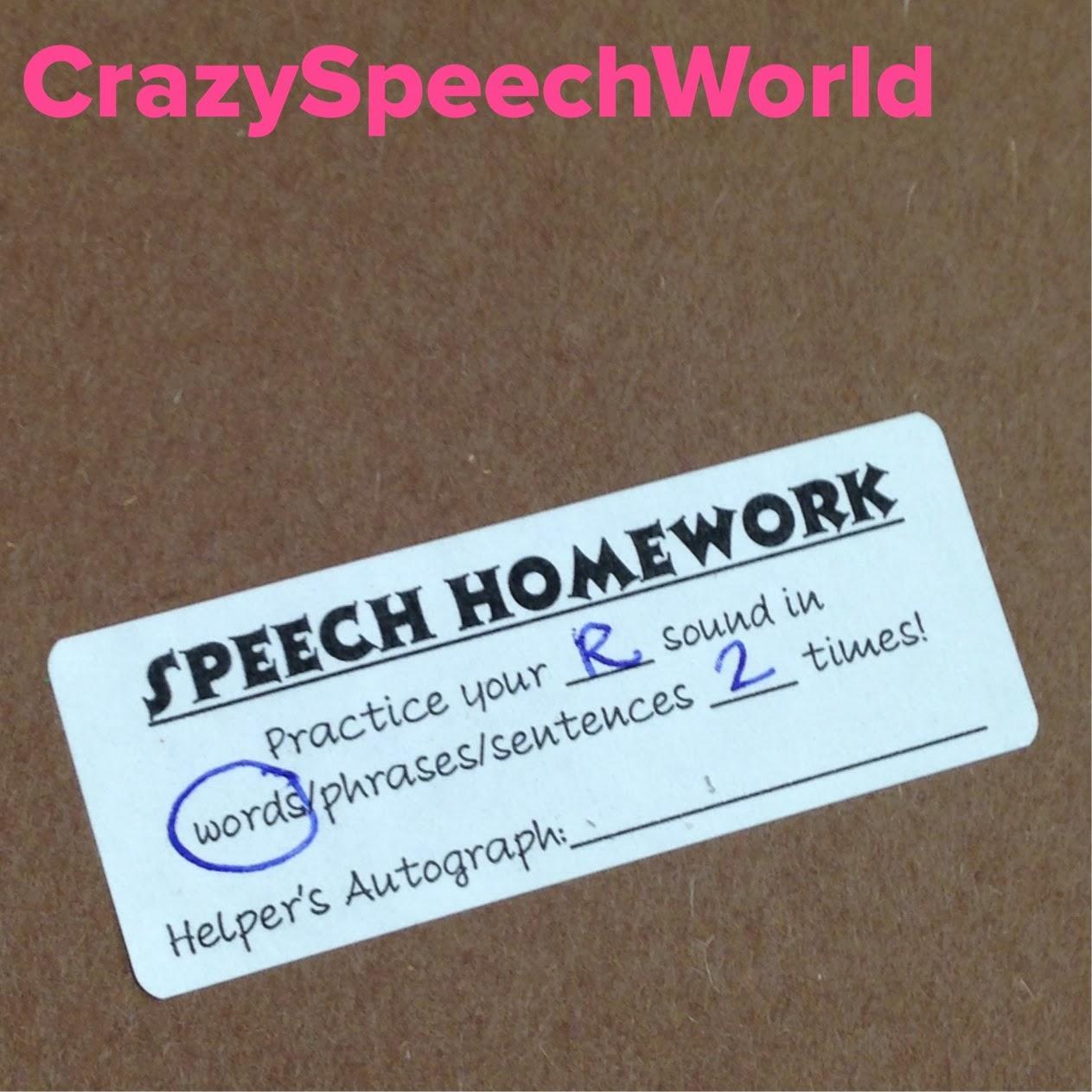 Bright Ideas SLP  March Speech   Language Homework Pinterest Why Does My Speech Pathologist Send Homework