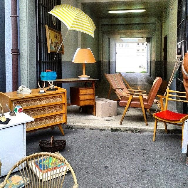Brocante Amiens , octobre 2014 / Photos Atelier rue verte