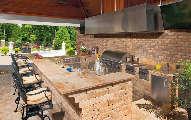 Simple Outdoor Kitchen Design Ideas Picture 12