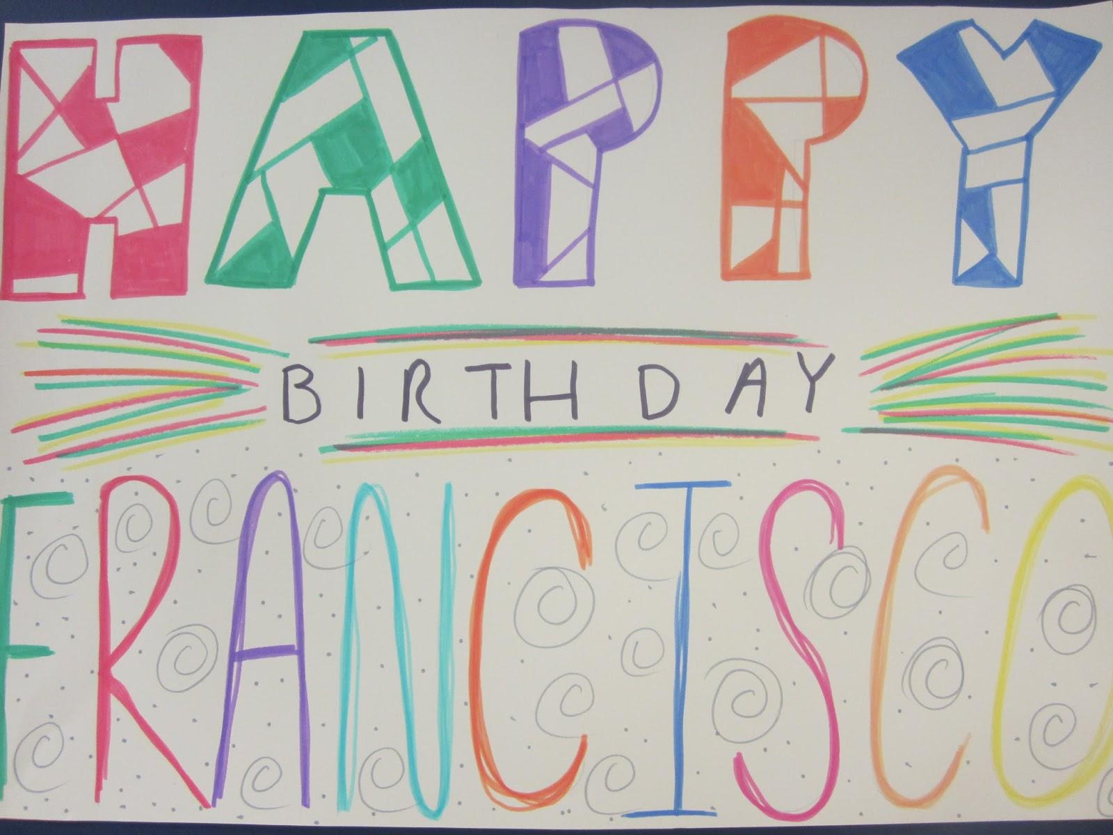 happy birthday pancho