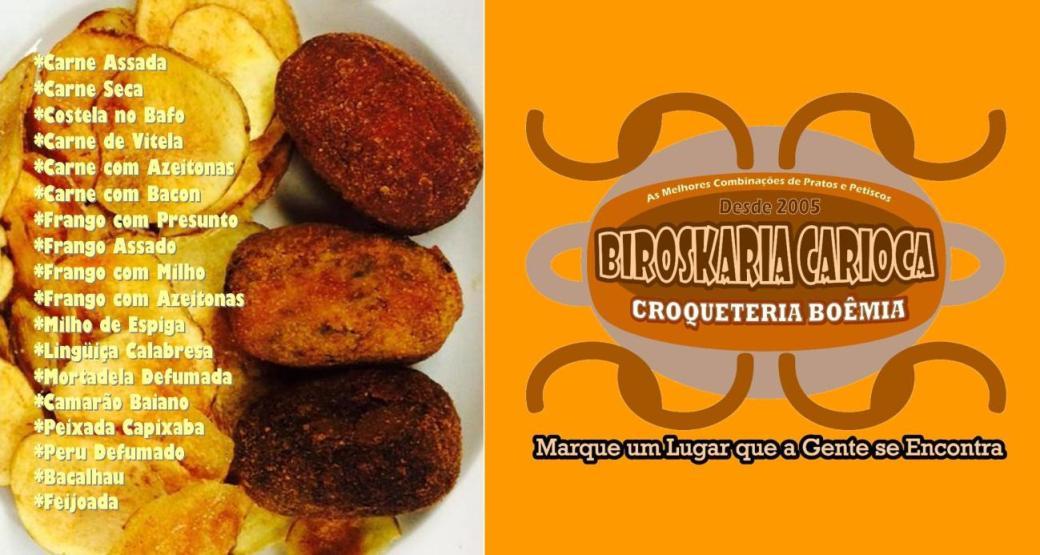::CROQUETERIA BOEMIA | BIROSKARIA CARIOCA | Fast Delivery | Buffet | Decoração | Barzinho | Bebidas