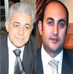 حمدين صباحى وخالد فى ميدان التحرير