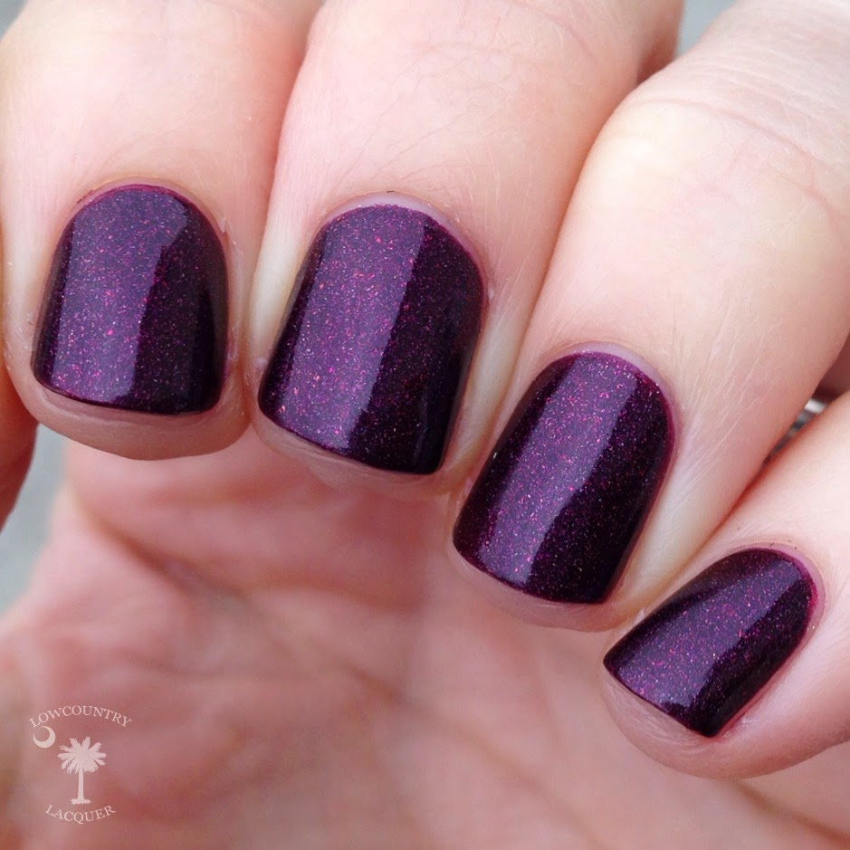 I Love Nail Polish Black Orchid | Lowcountry Lacquer