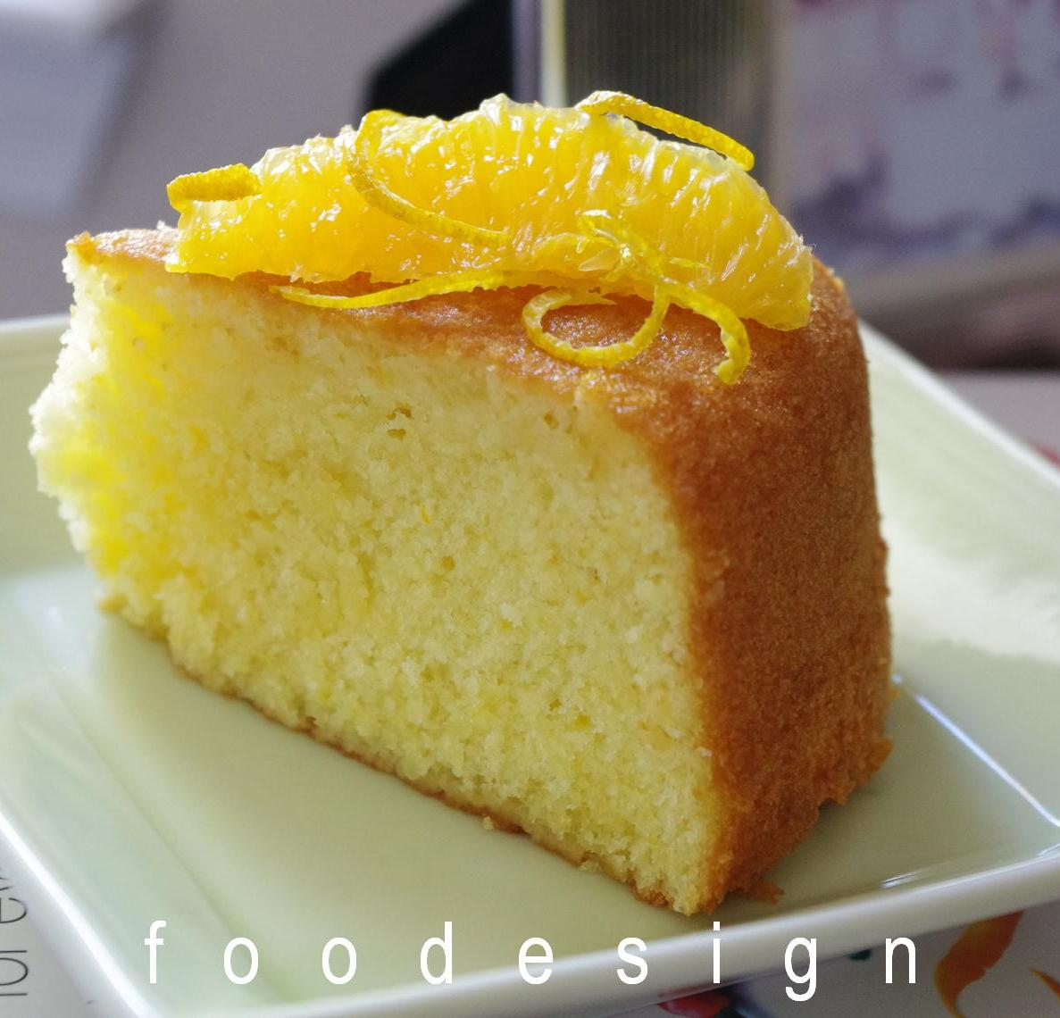 Orange Cake Recipe — Dishmaps