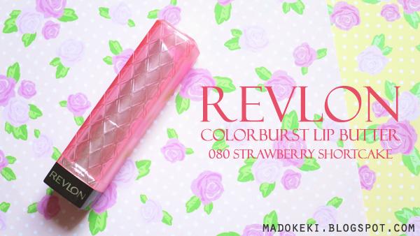 Revlon ColorBurst Lip Butter 080 Strawberry Shortcake