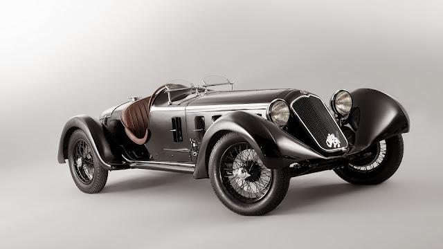 alfa romeo 6c 1750 ss 1929 Carros antiguos