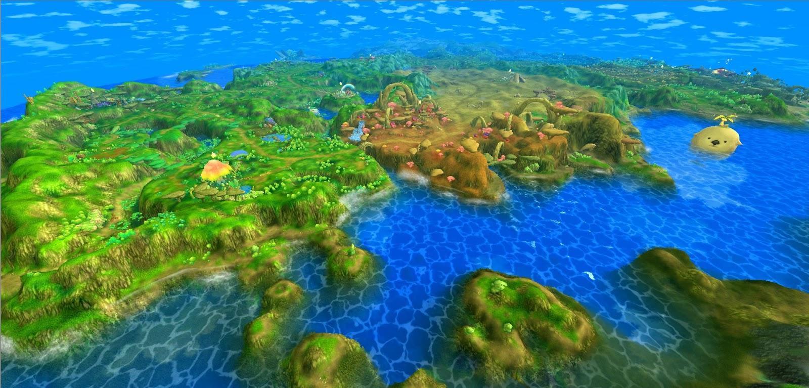 星界神話 world map