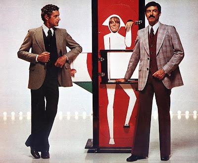 anos 70; moda década de 70, moda masculina anos 70. história anos 70. Oswaldo Hernandez.. propaganda Coleção Ducal - inverno de 1976