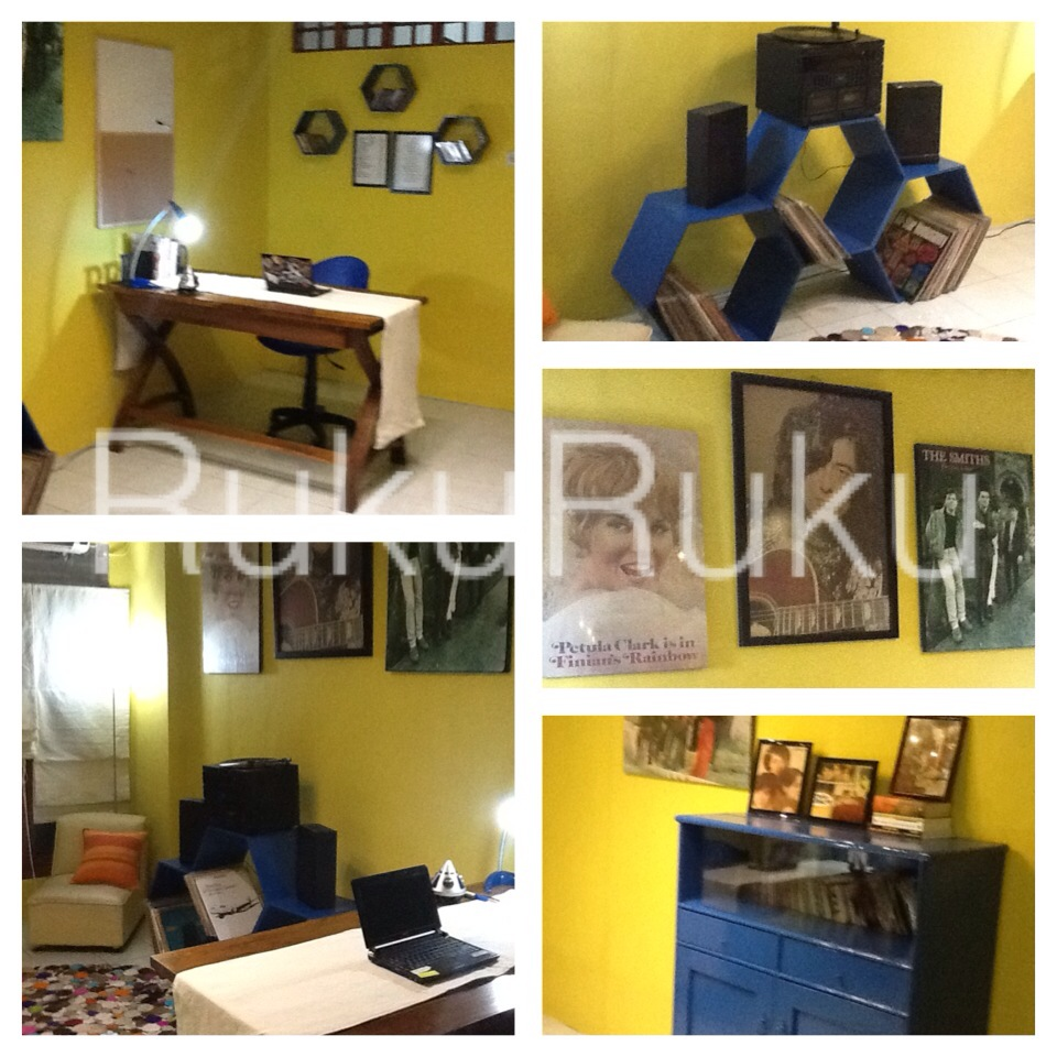 RukuRuku.: Redecorate DULUX Let\'s Colour -- Study Room
