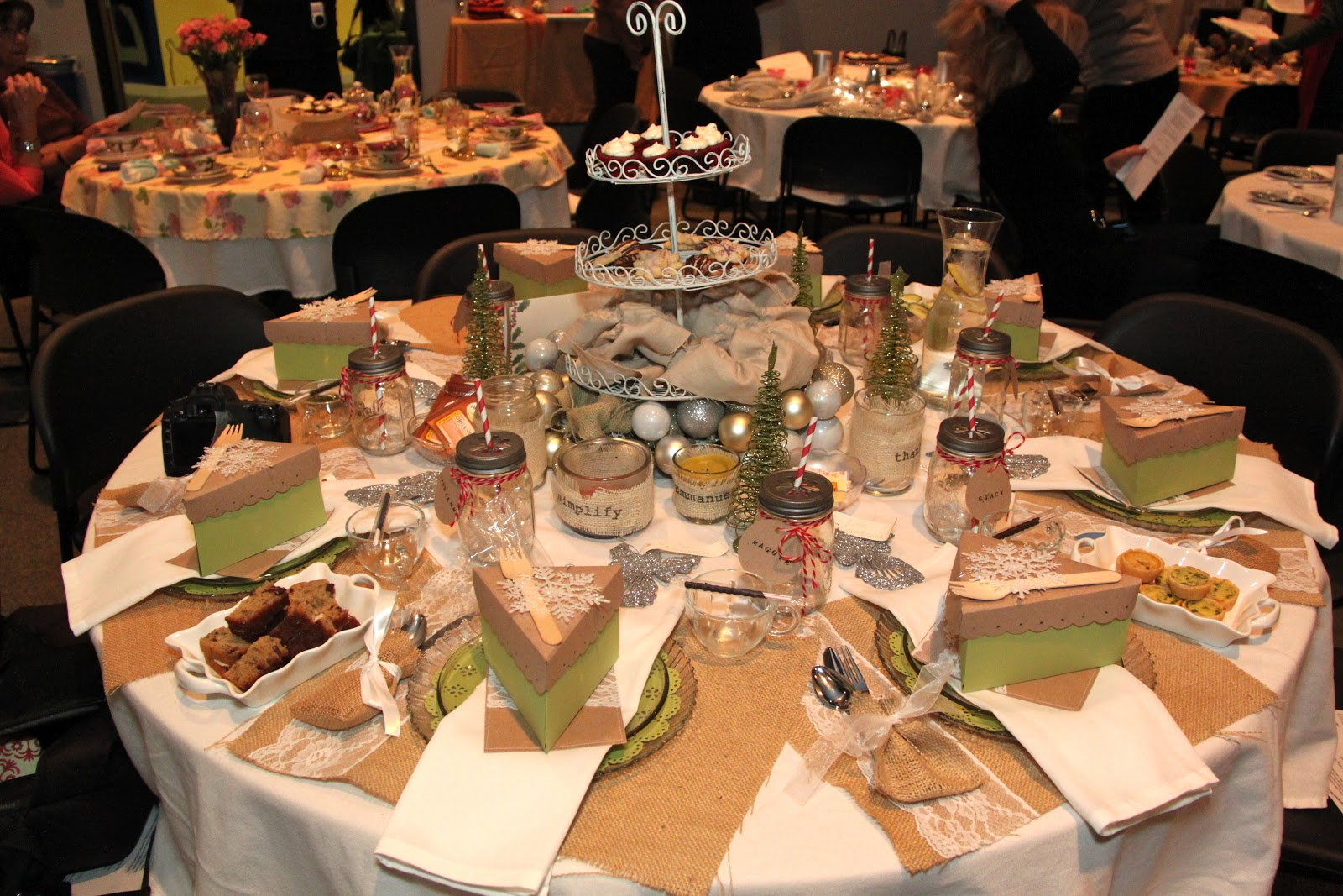 Tablescapes For Church Events