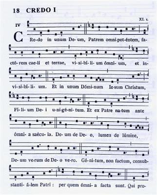 Liturgia: Como é o canto no Credo?