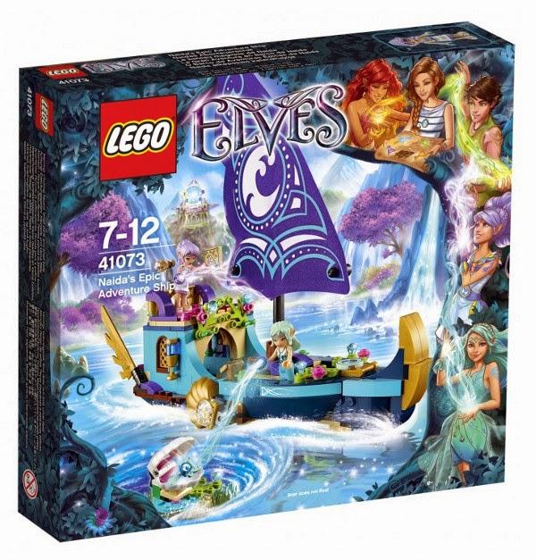 JUGUETES - LEGO Elves  41073 La Épica Aventura en Barco de Naida  Producto Oficial 2015 | Edad: 7-12 años