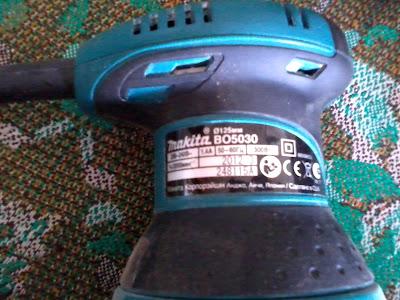 Makita BO5030 - орбитальная шлифмашина фото