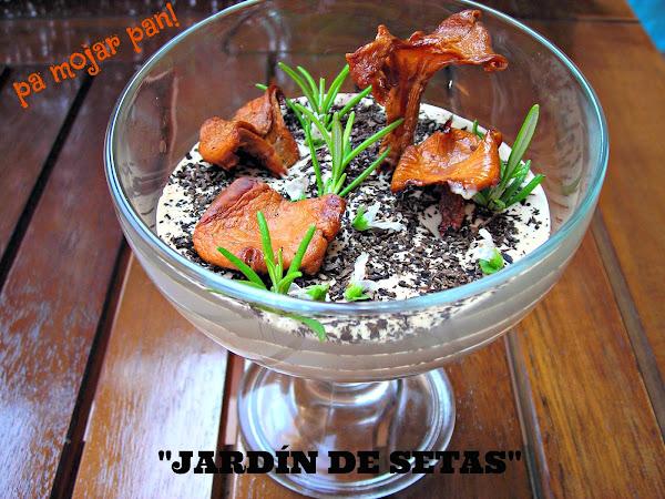 Setas deshidratadas cocinar en casa es for Jardin de setas