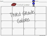 http://www.teacherspayteachers.com/Product/Football-Themed-Grammar-Task-Cards-FREEBIE-1040725