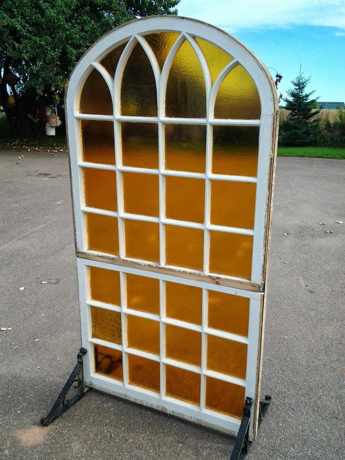 Backroad Folkart by Kerras Jeffery Stained Glass Window great