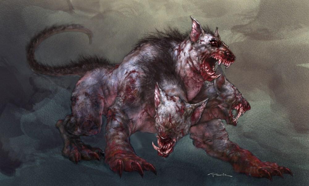 Cerberus Greek Mythology Creatures