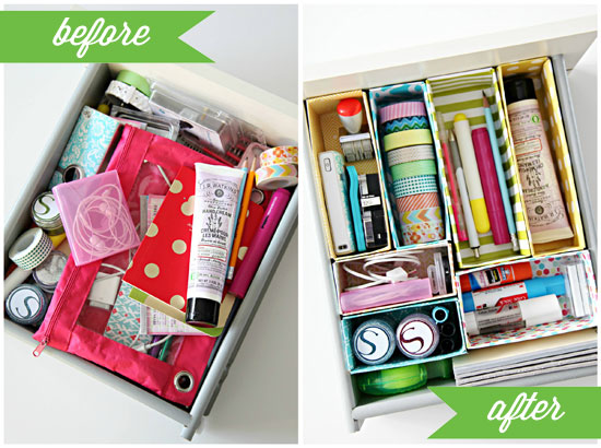diy drawer organizer cereal box 1