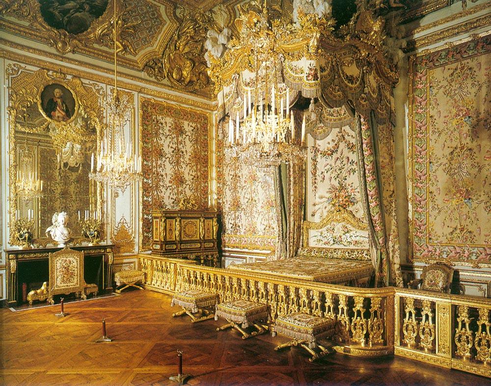 Chambre Bebe Meuble Martin : Le château de Versailles Chambre de la reine