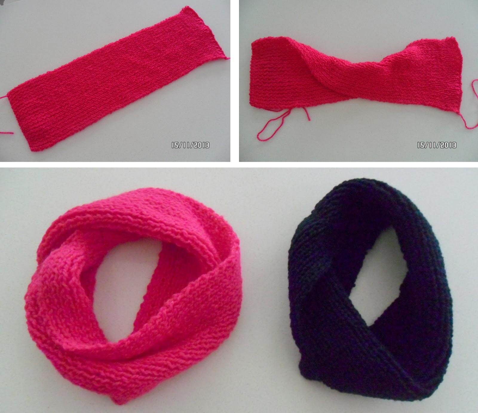 Bufandas de lana para ni os - Como hacer una bufanda de lana gorda ...