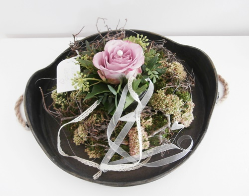 Friday-Flowerday Kranz Rose