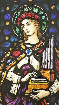 Dominican Life on Lotus Lane: Saint Cecilia