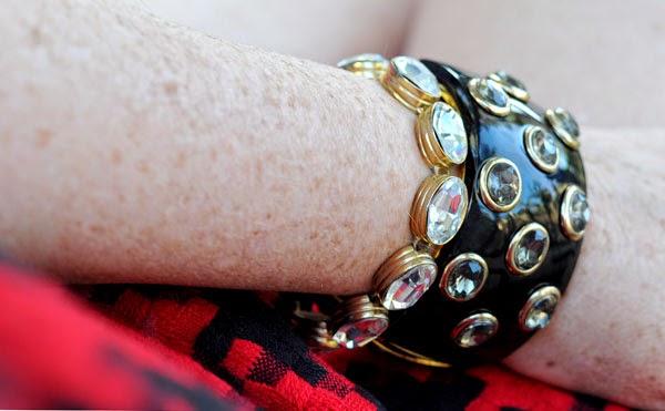 Rhinestone tennis bracelet beauty by sw blogger