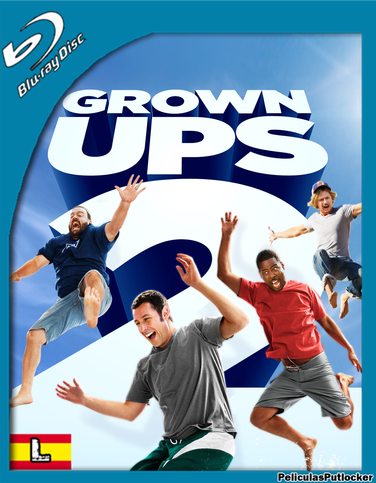 Grown Ups 2 [BrRip][Latino][MG-FD]