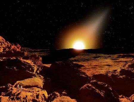 Sunrise di Merkurius