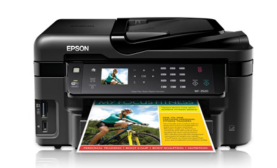 Epson WorkForce WF-3520 Printer Drivers Download Support Windows