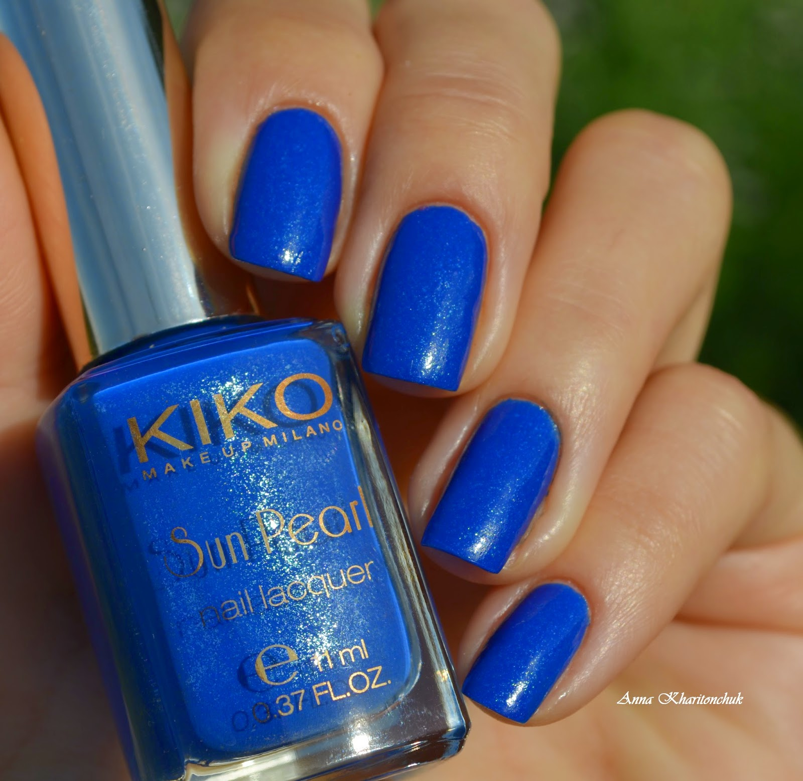 Kiko 429 Blue Spot и стемпинг Born Pretty Store