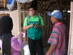 Layanan Konsultasi ke Peternakan Kambing Etawa tgl 19 Maret 2013