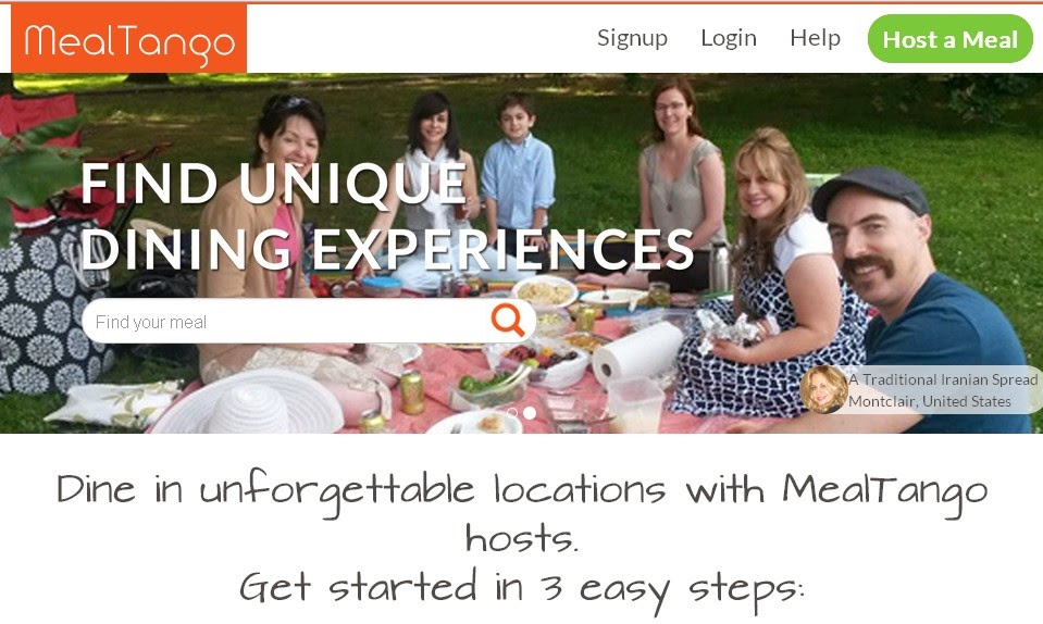 Meal Tango Dining Experience