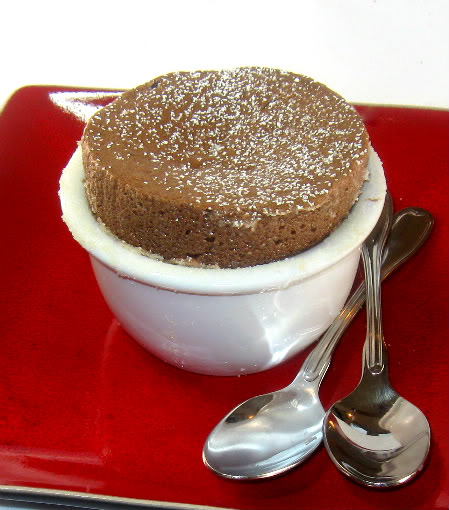 One Year Ago Today: Individual Chocolate Souffles
