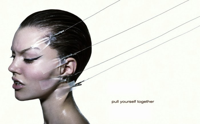 Baard Lunde. Pull Yourself Together. Fashion Photography