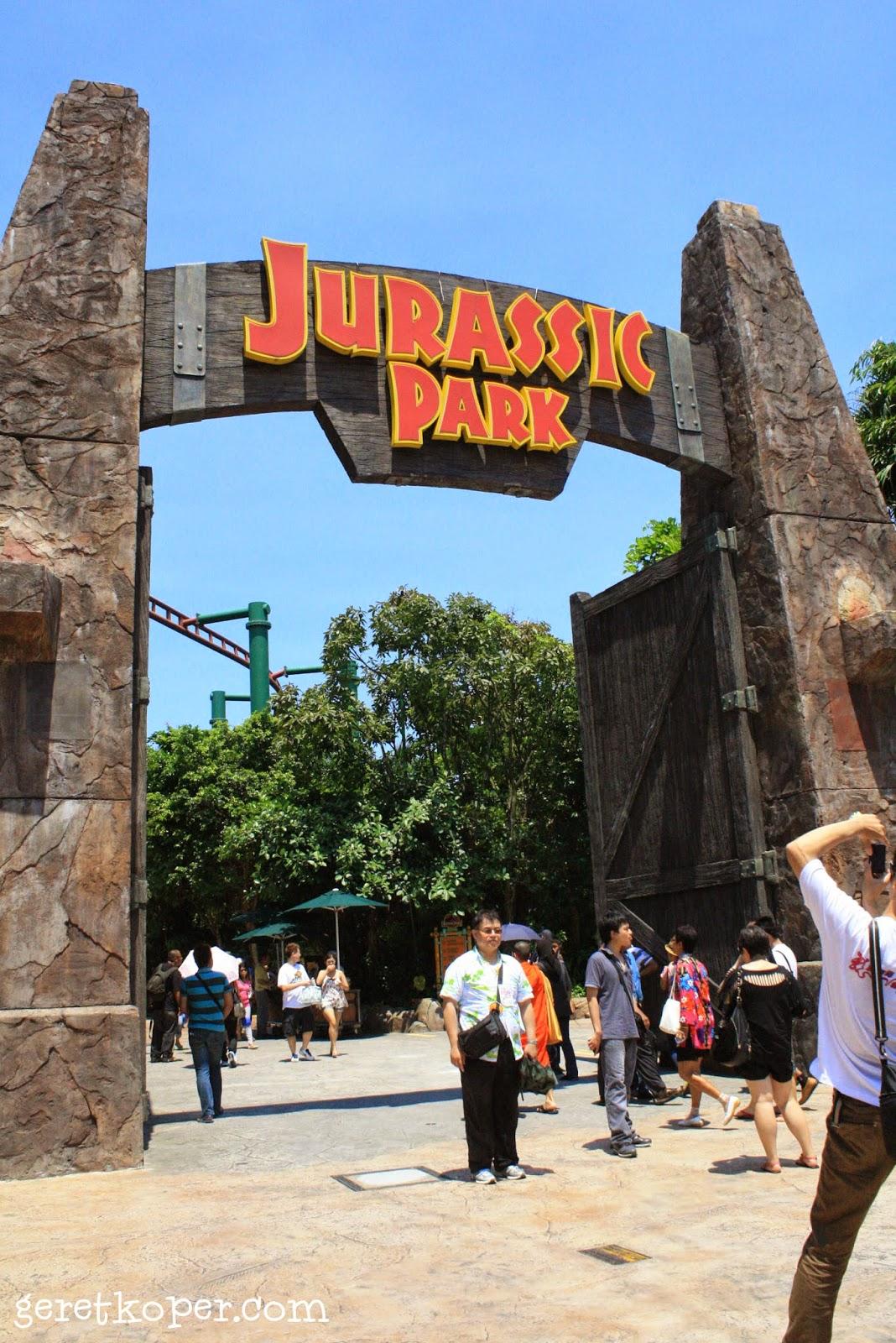 Canopy Flyer & Universal Studios Singapore - Geret Koper