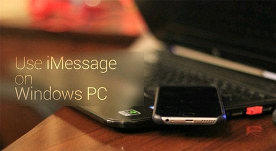 Cách sử dụng iMessage trên máy tính Windows