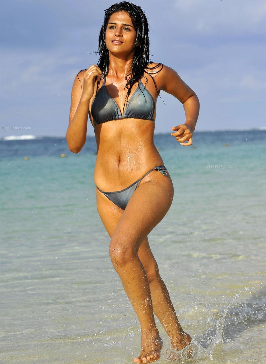 Thanks Shraddha das hot bikini amusing