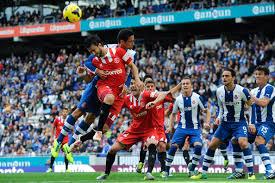 Sevilla FC vs Espanyol en partido de vuelta, cuartos de final, Copa del Rey
