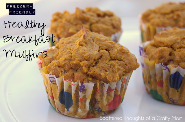 healthy breakfast muffin recipes