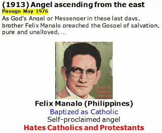 """Philippines Church Of Christ Founder """"The 5th Angel From the East"""" ?"""