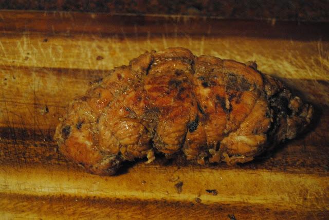TURKEY BREAST STUFFED WITH SEASONAL VEGETABLES