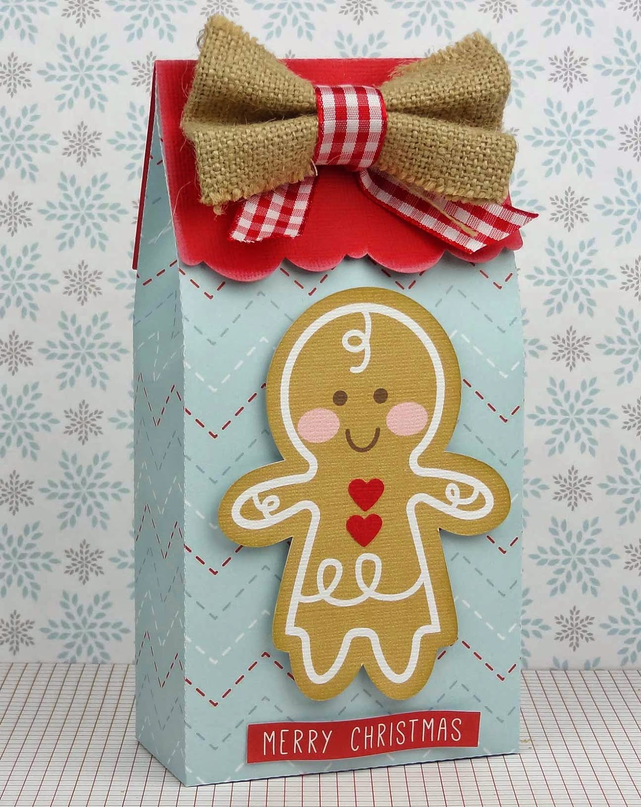Print and Cut Gingerbread Girl