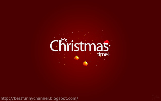 The Christmas time!.