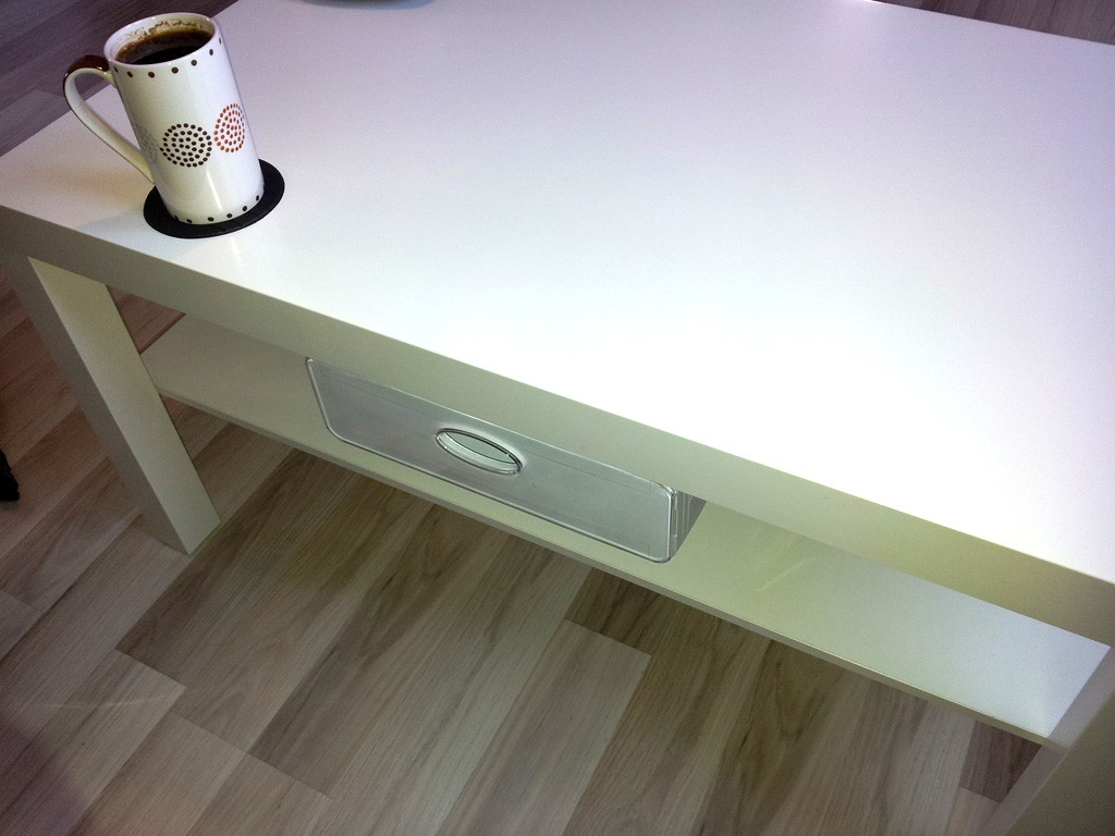 Diy Do It Yourself Blog Ikea Hack Lack Table With Drawer