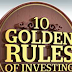10 BEST GOLDEN RULES OF INVESTING IN STOCKS